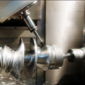 CNC Lathe in action