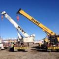industrial cranes lifting