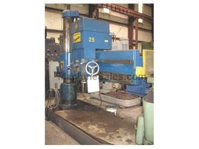 "GIDDINGS & LEWIS BICKFORD 5'11"" RADIAL ARM DRILL"