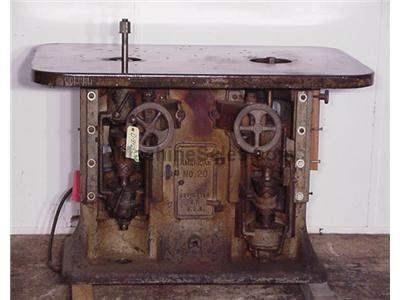 AMERICAN DOUBLE SPINDLE SHAPER