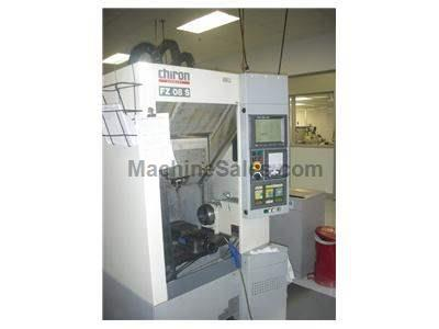 Chiron Model FZ-08S CNC Vertical Machining Center, New 1997