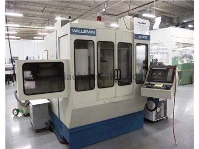 Willemin W-418 B, CNC 5-Axis VMC 1998