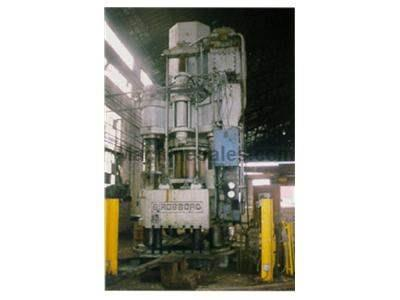 1000 Ton Birdsboro 4-Post Down Acting Hydraulic Press