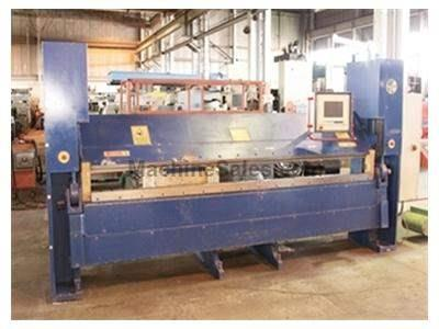 "11 Ga. x 122"" Powerfold (HERA) Model 1011L CNC Folding Machine 1997"