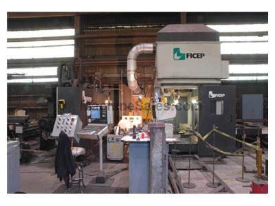 Ficep CNC Drilling & Thermal Coping Line
