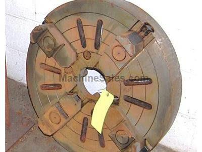 "26"" Diameter Heavy Duty 4-Jaw Chuck"