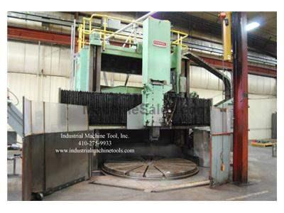 "Farrel 100 Ton CNC Vertical Boring Mill, 132"" Swing"