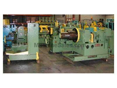 "14"" x 2-5/8"" RUESCH/SECO LIGHT GUAGE SLITTING LINE (11435)"