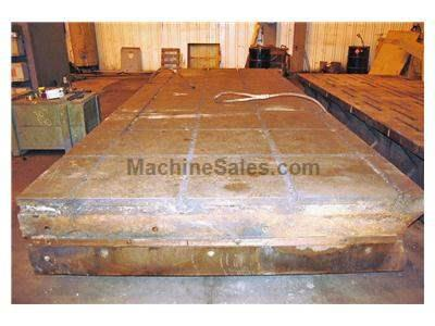 "90"" x 215"" x 19"" T-Slotted Floor Plate"