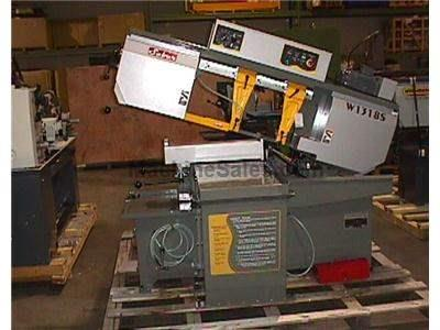 "13""x18"" Saber, model W1318S swing-head miter cutting bandsaw"