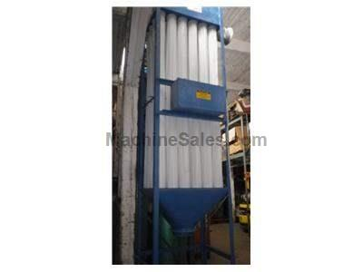 Dust Filter 10hp blower and open baghouse woodworking dust collector
