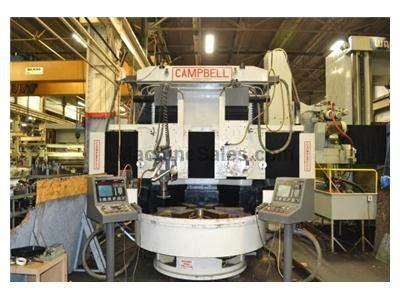 "66"" Campbell Twin Spindle CNC Vertical Universal Grinder"