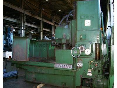 "54"" Mattison Rotary Surface Grinder Model 48 New 1966"