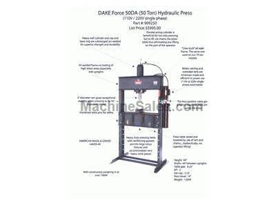Hydraulic Shop Press made in USA