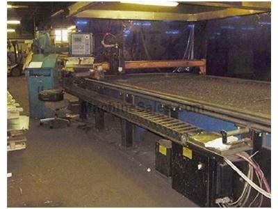 6' x 32' Esab Plasma Cutting Machine Sabre 1000 New 1995