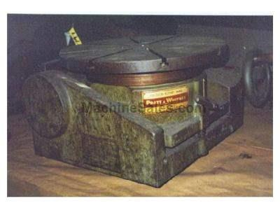 "18"" PRATT & WHITNEY TILTING PRECISION ROTARY TABLE"