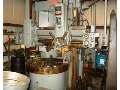 "52"" BULLARD DYNATROL VERTICAL TURRET LATHE ( WITH OVERSIZED TABLE )"