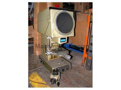 "10"" MITUTOYO MODEL PJ250 VERTICAL BEAM OPTICAL COMPARATOR"