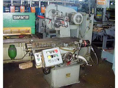 MODEL 12SA NICHOLS HORIZONTAL PRODUCTION MILL WITH BALL SCREW & SERVO