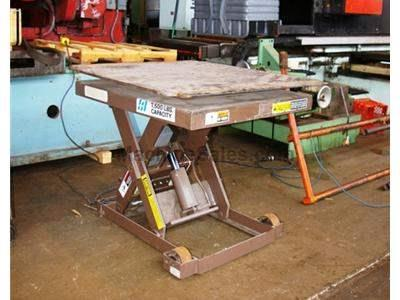 2,500 LB. AUTO QUIP HYDRAULIC ELEVATING TABLE MODEL 24525