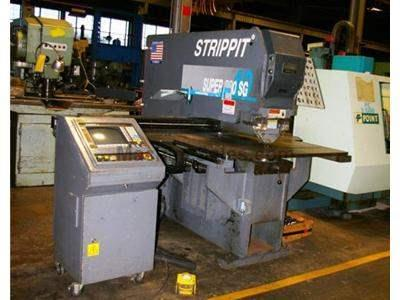 "44 TON STRIPPIT #SUPER 750SG SEMI-AUTOMATIC SINGLE END PUNCH WITH ""SMA"
