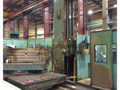 "6"" Giddings & Lewis CNC Table Type Horizontal Boring Mill"