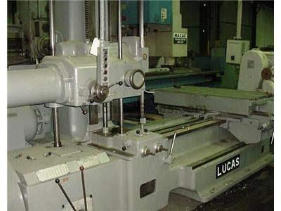 "3"" Used Lucas Table Type Horizontal Boring Mill"