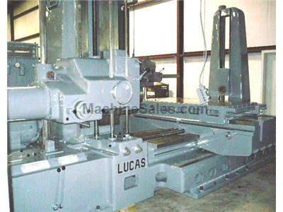 "4"" Used Lucas Table Type Horizontal Boring Mill"