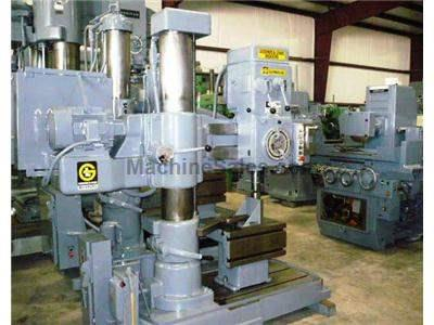 "3' X 9"" Used Giddings & Lewis Radial Drill"