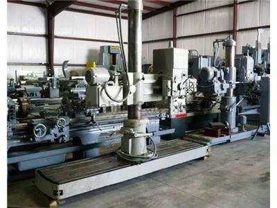 "4' X 9"" Cincinnati Gilbert Double Base Radial Arm Drill"