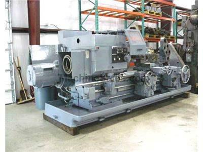 4A Used Warner & Swasey Square Head Saddle TypeTurret Lathe