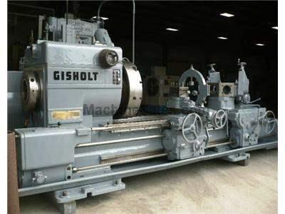 5L Used Gisholt Saddle TypeTurret Lathe
