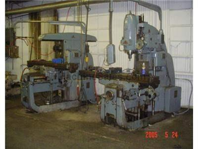 "16"" X 79"" Used Frezarki Palamco Horizontal Milling Machine"