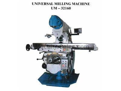 "12"" X63"" Masteel Universal Milling Machine With Independent Verti"