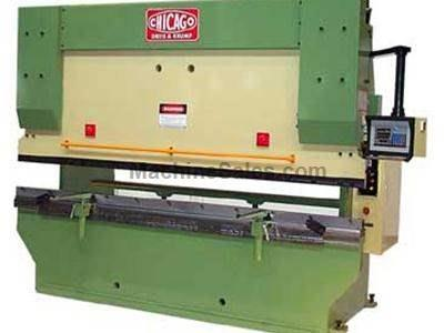 CHICAGO DREIS & KRUMP HYDRAULIC PRESS BRAKE
