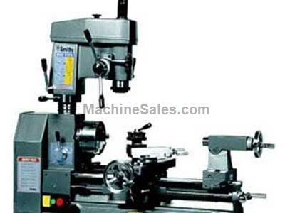 SMITHY MIDAS-1220XL: Combination Lathe-Milling machine