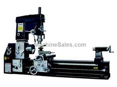 SMITHY GRANITE 1340: Combination Lathe-Milling machine