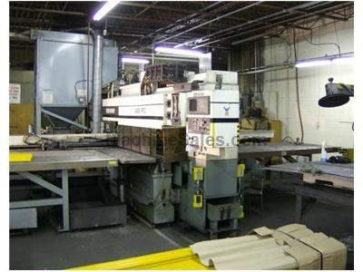 40 Ton Whitney CNC Punch/Plasma Fabricating Center