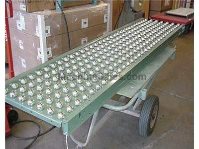 2'x 10' Ball Transfer Conveyor by Hytrol