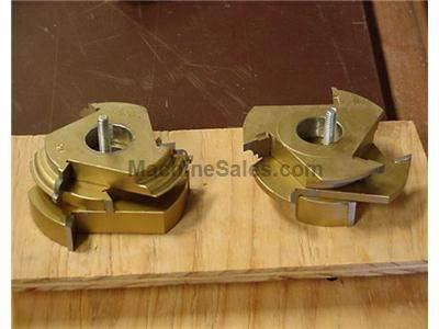Stile & Rail Shaper Cutter set by LRH
