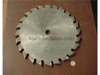 "8"" Groove cutting blade for 10"" table saw"