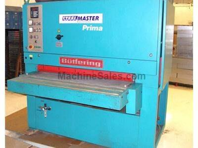 "53"" Steelmaster Prima 2KB-13 Dry Type Deburring Machine"