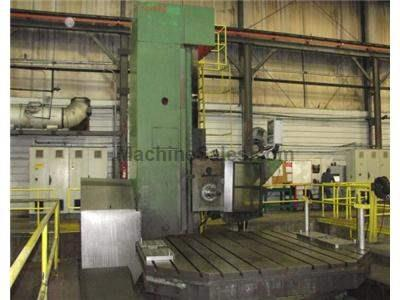 "6"" WMW BP150 CNC Floor Type CNC Horizontal Boring Mill"