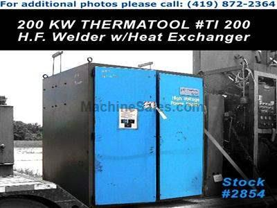 200 KW THERMATOOL High Frequency Welder w/Heat Exchanger