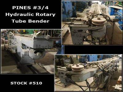 Pines #3/4 Hydraulic Rotary Bender