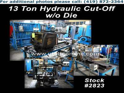 13 Ton Hydraulic Cut-Off w/o Die