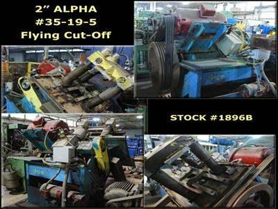 "2"" ALPHA #35-19-5 4-Post Flying Cut-Off"