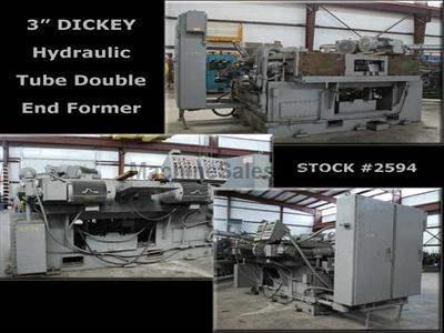 "3"" DICKEY Hydraulic Tube Double End Former"