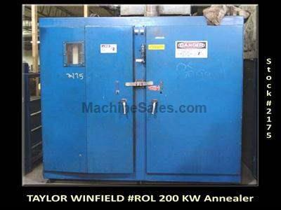 TAYLOR WINFIELD #ROL 200 KW Tube Annealer