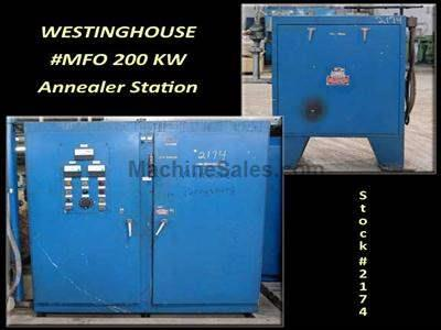 WESTINGHOUSE 200 KW Tube Annealer